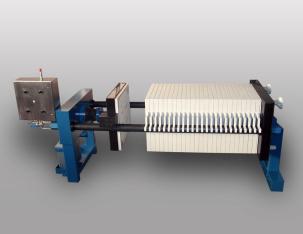 Säurefeste Filterpresse KSH 800 C/Ex